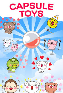 Download Bear heart Stickers Free APK