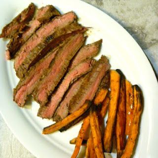 Grilled Cuban Flank Steak.