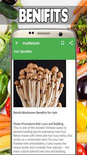 Mushroom Benefits - náhled