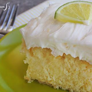Tequila Lime Margarita Cake.