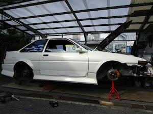 スプリンタートレノ AE86 GTのカスタム事例画像 244さんの2019年10月05日20:46の投稿