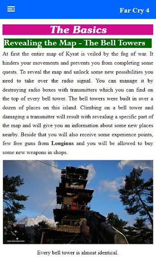 【免費娛樂App】Best Guide For Far Cry 4-APP點子