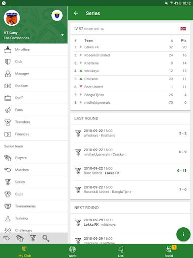 Hattrick Football Manager Game apktram screenshots 15