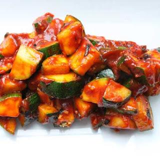 Korean Style Zucchini Recipe