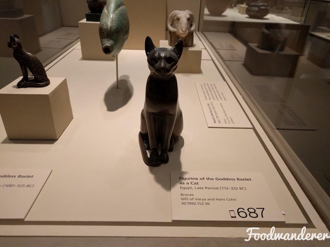 LACMA Egyptian Cat