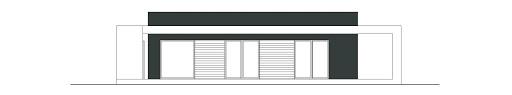 Otwarty D42 - Elewacja tylna