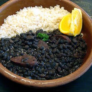 Black Bean Feijoada.