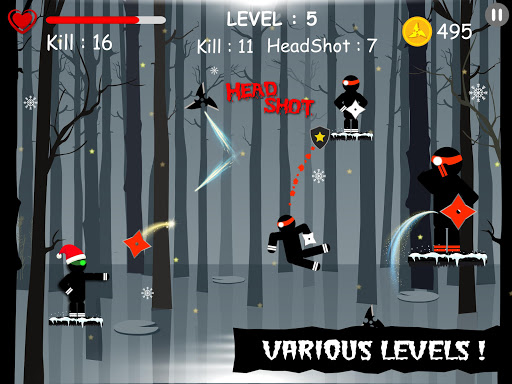 Ninja: Samurai Shadow Fight  screenshots 5