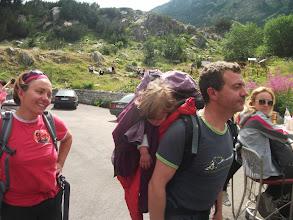 Photo: Неки планинаре у носиљци