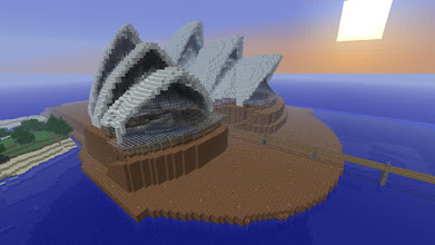 Photo: The Sydney opera house, built by Anominous.