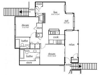 Go to Durham Floorplan page.