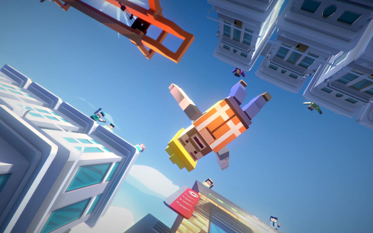 Jumpy Rooftop- screenshot