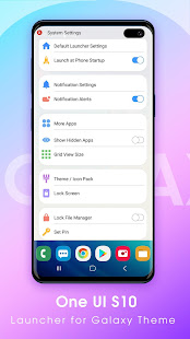 S10 Launcher One UI - Launcher for Galaxy Theme for PC