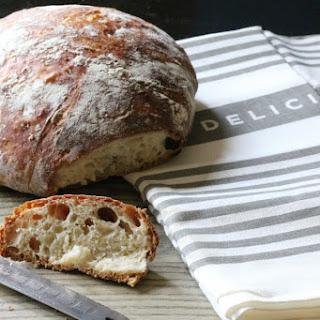Artisan No-Knead Bread.