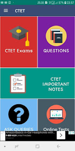Download CTET - Center Teacher Eligibility Test Android App For PC Windows and Mac apk screenshot 1