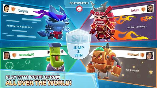 Super Jump League - Awesome Multiplayer Battles 1.6.1 screenshots 4