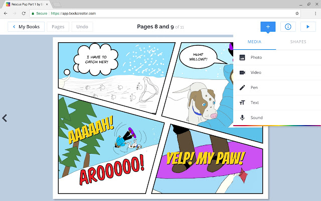 Book creator chrome web store book creator for chrome fandeluxe Gallery