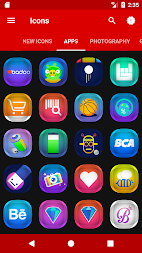 Verom - Icon Pack APK screenshot thumbnail 7