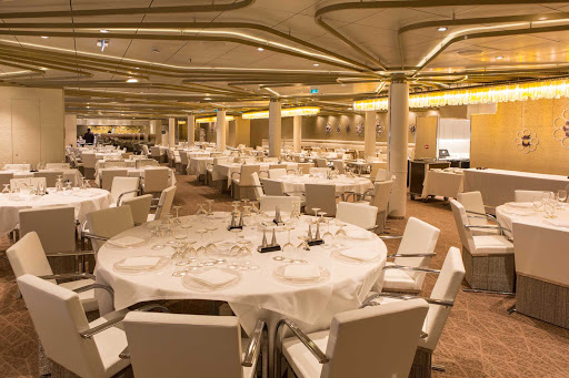 Anthem-of-the-Seas-Chic - Guests can enjoy contemporary cuisine in the main dining room aboard Anthem of the Seas.