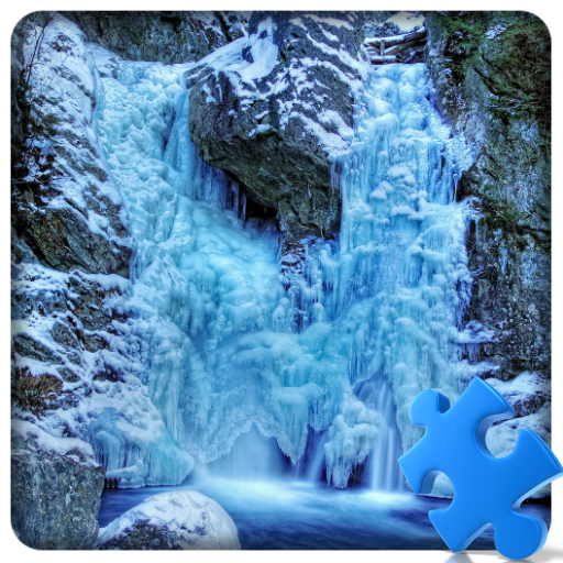 冬季瀑布拼图 解謎 App LOGO-硬是要APP