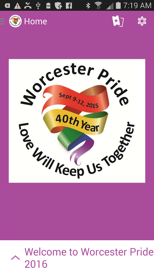 Worcester Pride- screenshot