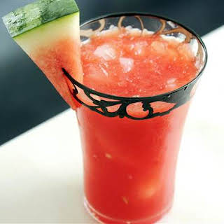 Watermelon Cooler Cocktail.