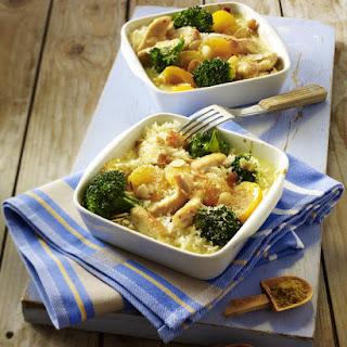 Chicken, Broccoli and Apricot Casserole.