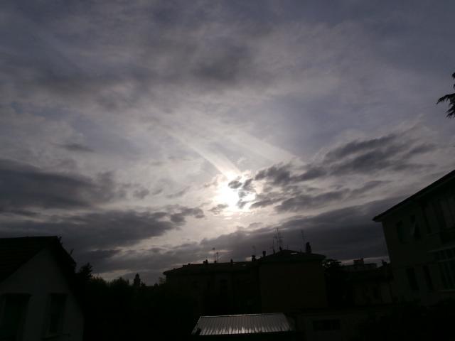 Riflessi all'alba di Santapaula