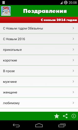Поздравления: Год обезьяны - 2016 скачать на планшет Андроид