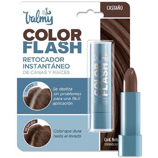 tinte retocador valmy color flash castano 04 barra 4 gr