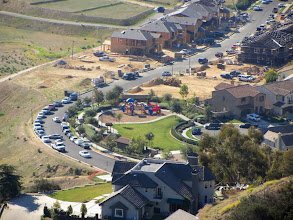 Photo: Zoomed-in view south from Garcia Trail toward McNeal Drive and new construction in Rosedale