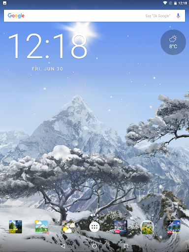 True Realistic weather nature live wallpaper 3D HD Apk Download Only APK file for Android