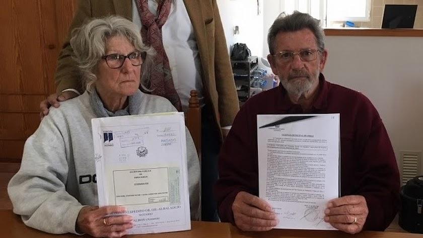 El matrimonio Payne en una fotografía de archivo.
