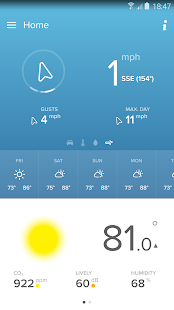 Netatmo Weather Station- screenshot thumbnail