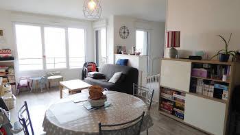 Appartement 2 pièces 47,96 m2