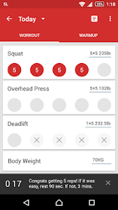StrongLifts 5x5 Workout v2.1
