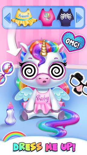 My Baby Unicorn - Cute Rainbow Pet Care & Dress Up 1.0.33 screenshots 7