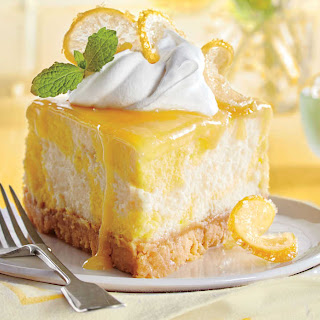 Dreamy Lemon Cheesecake.