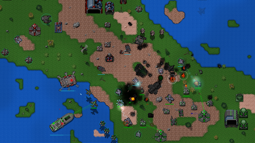 rusted warfare - demo screenshot 1