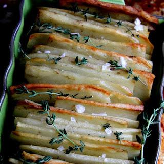 Shingled Potato Bake