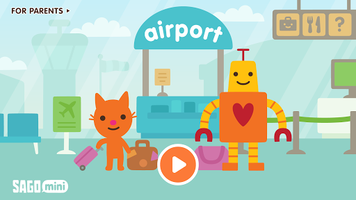 Sago Mini Airport  screenshots 1