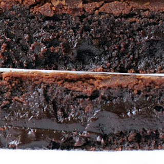 Chocolate Brownies with Olive Oil.