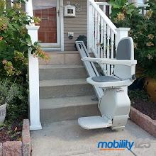 Photo: Outdoor Acorn Stairlift | NJ