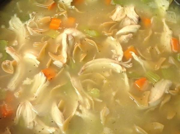 Steve's Super-simple Chicken Soup Recipe