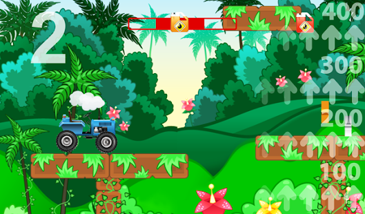 Animated Puzzles tractor farm- screenshot thumbnail