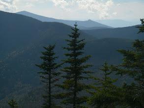 Photo: Sandwich Dome and Jennings Peak from Hibbard Mountain.