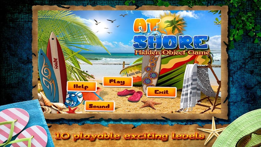 android At Shore Find Hidden Object Screenshot 2