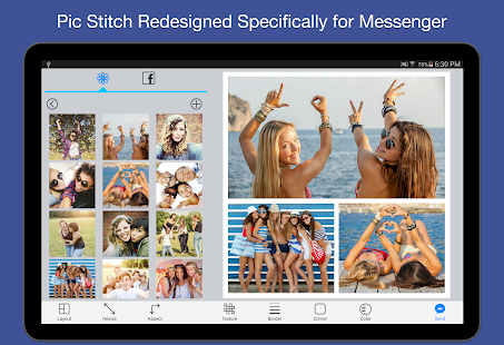 Pic Stitch for Messenger Screenshot