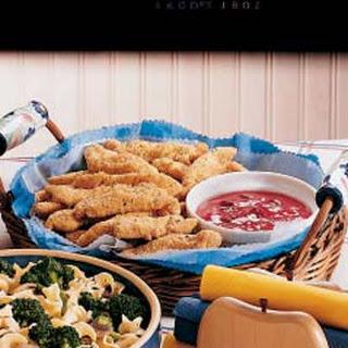 Oven Chicken Fingers.