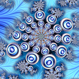 Freeze by Cassy 67 - Illustration Abstract & Patterns ( digital, love, psychedelic, harmony, trippy, modern, light, fractal, abstract, energy )